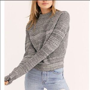 Free People Too Good Sweater Pullover Crew neck